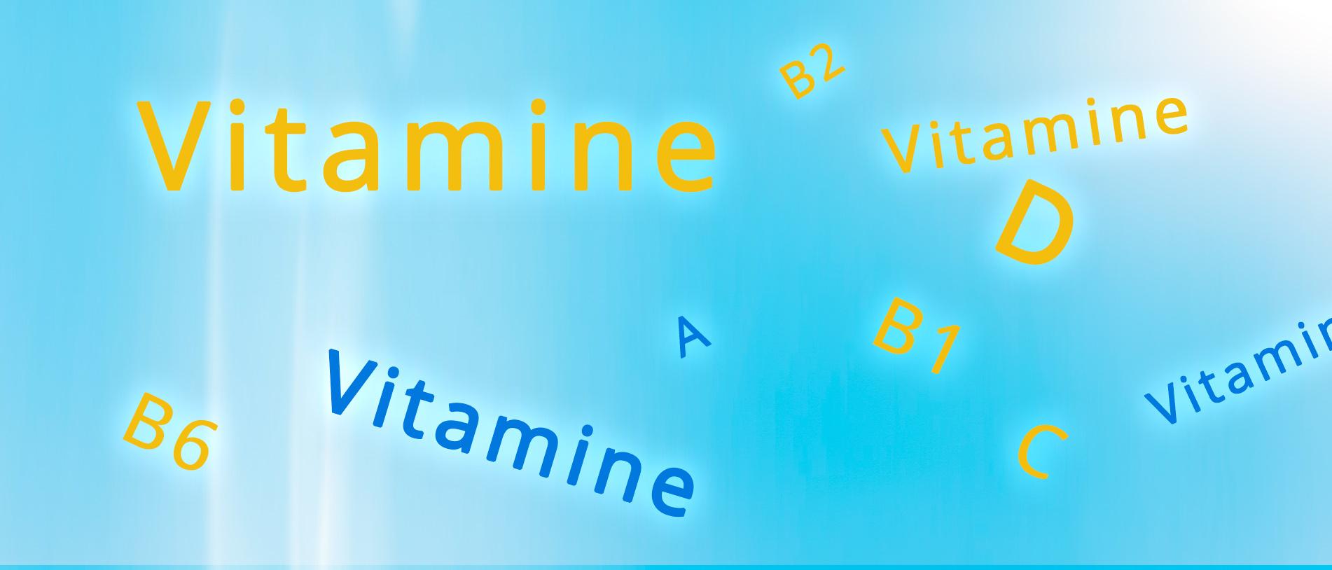 6 Vitamine für eine nachhaltige Gesundheit